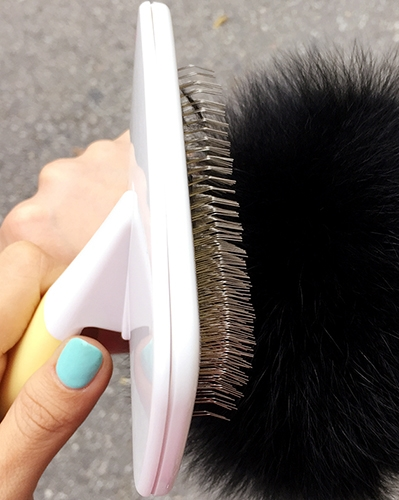 fur brush