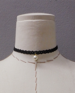 pearl point choker