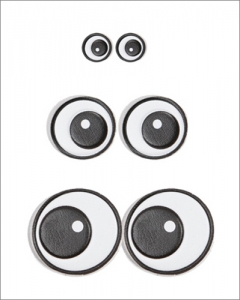 emboss sticker_Eyes P