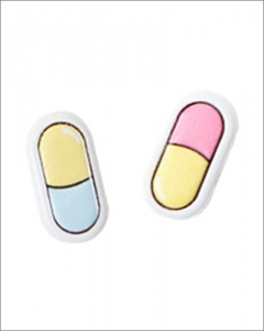 emboss sticker_Pill