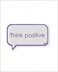 emboss sticker_Think