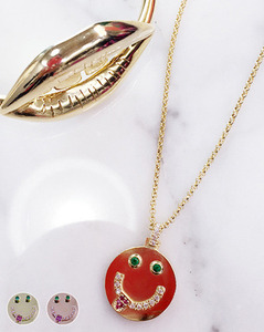 THEORO™ make me smile necklace