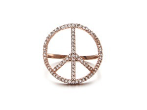 Cubic Peace Ring